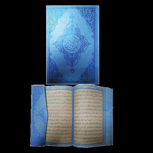 Kur'an-ı Kerim - Orta Boy - Mavi