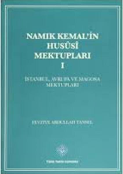 Namik Kemal'in Husûsî Mektuplari (4 Cilt Takım) - Fevziye Abdullah Tansel