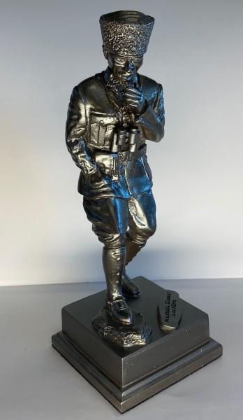 Atatürk Heykeli Küçük Boy - Kocatepe, Gümüş Renk