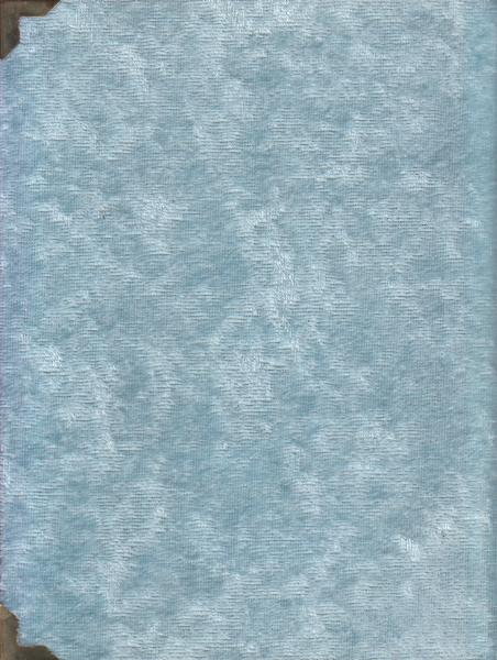 Yasin-i Şerif Kadife - Cep Boy - Mavi