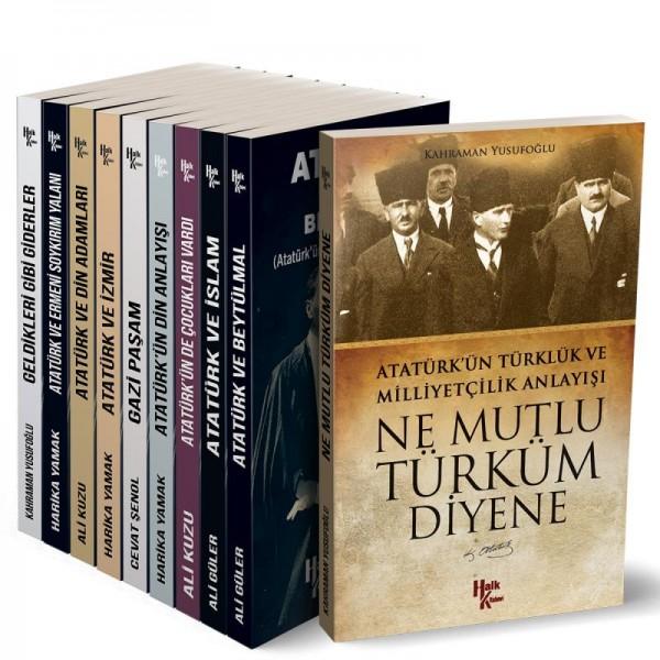 Atatürk Kütüphanesi Seti (10 Kitap) - Ali Güler