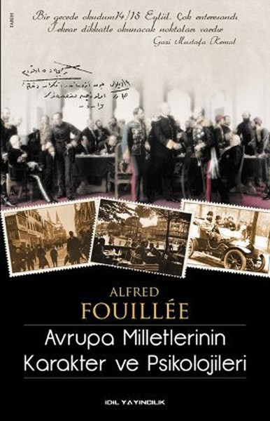 Avrupa Milletlerinin Karakter ve Psikolojileri - Alfred Fouillee
