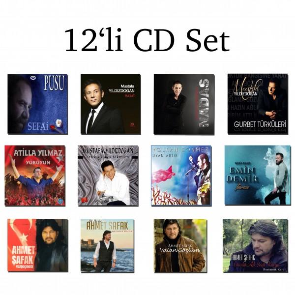 12'li CD Set